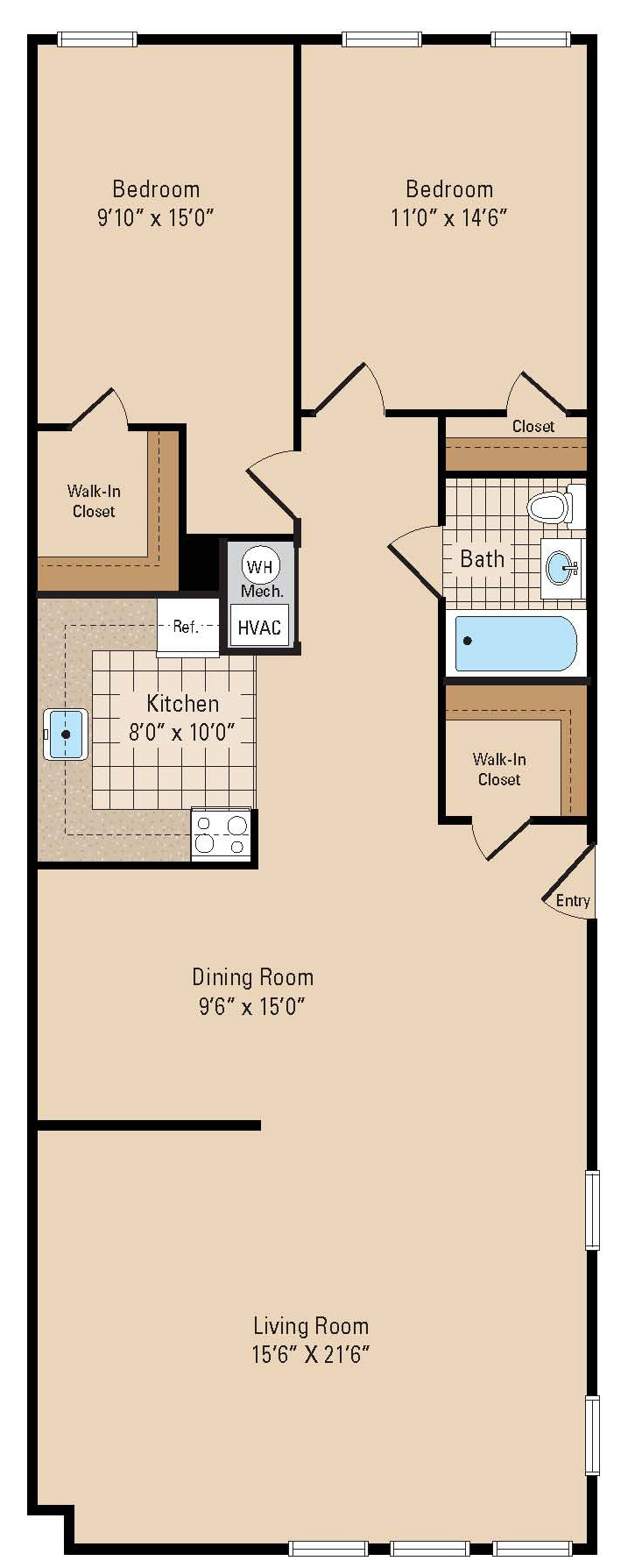 The brentwood for Brentwood floor plan