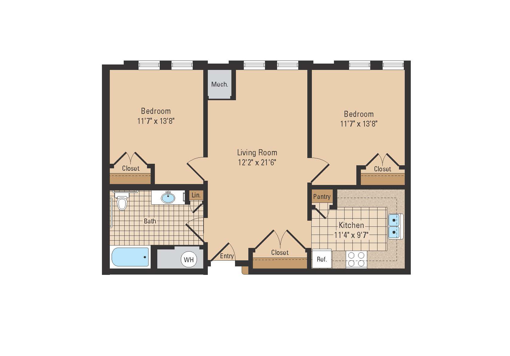 Avenue apartments the 500 square foot apartment floor plans