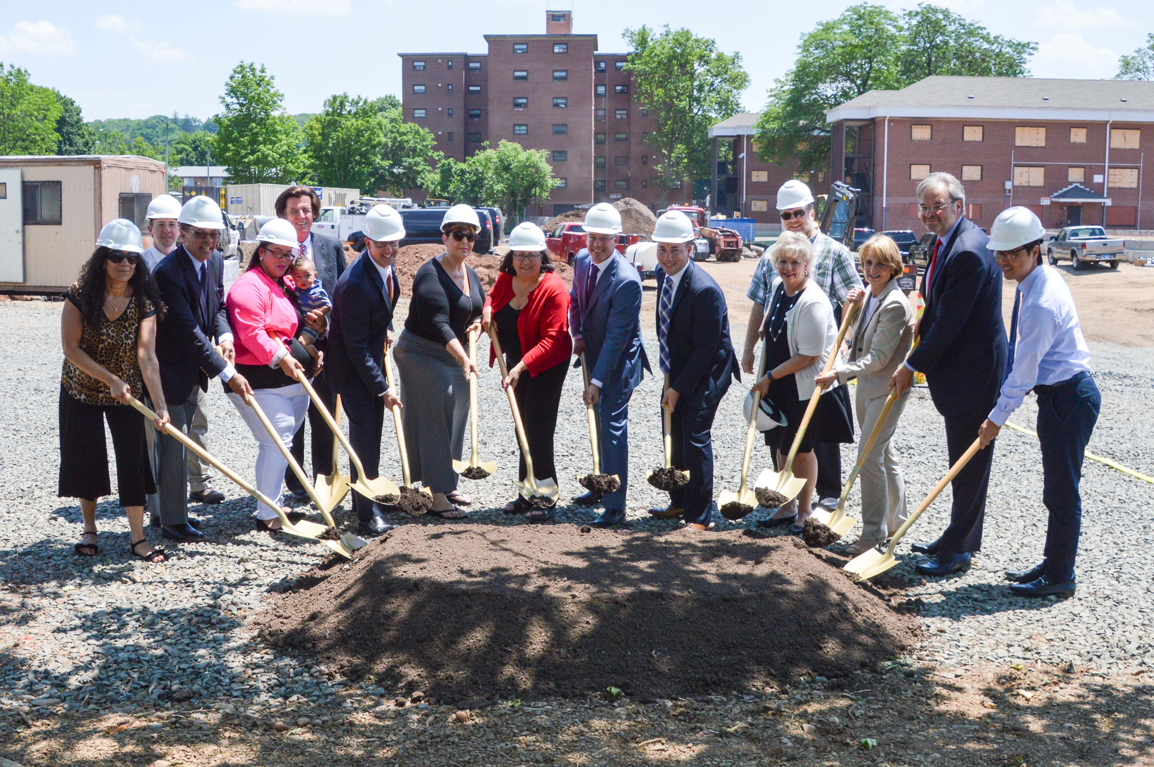 Meriden Commons I Groundbreaking