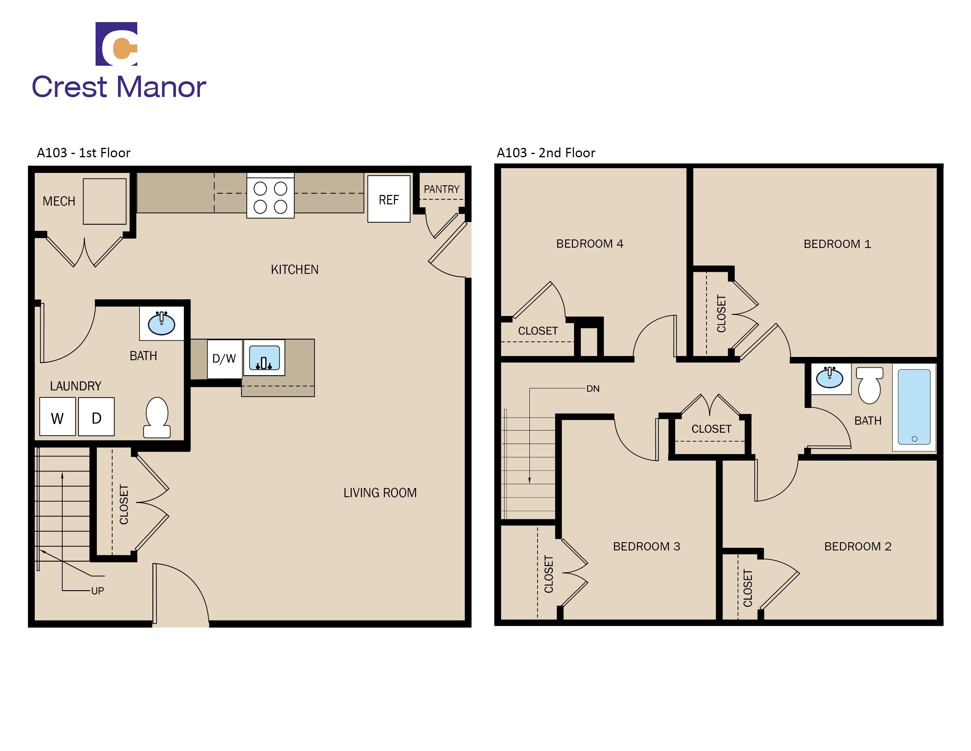 Multi unit apartment floor plans home mansion for Multi unit apartment plans